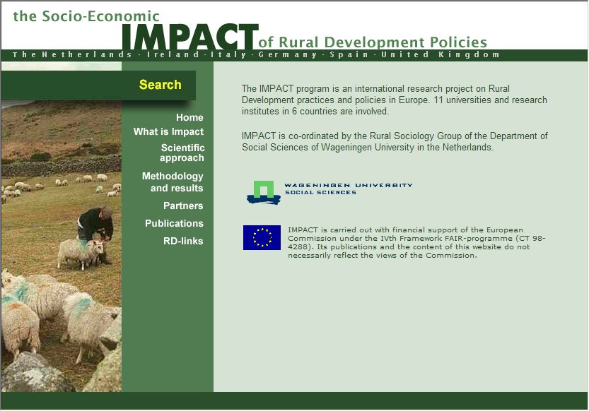 website rural impact